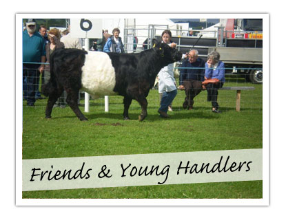 Friends & Young Handlers